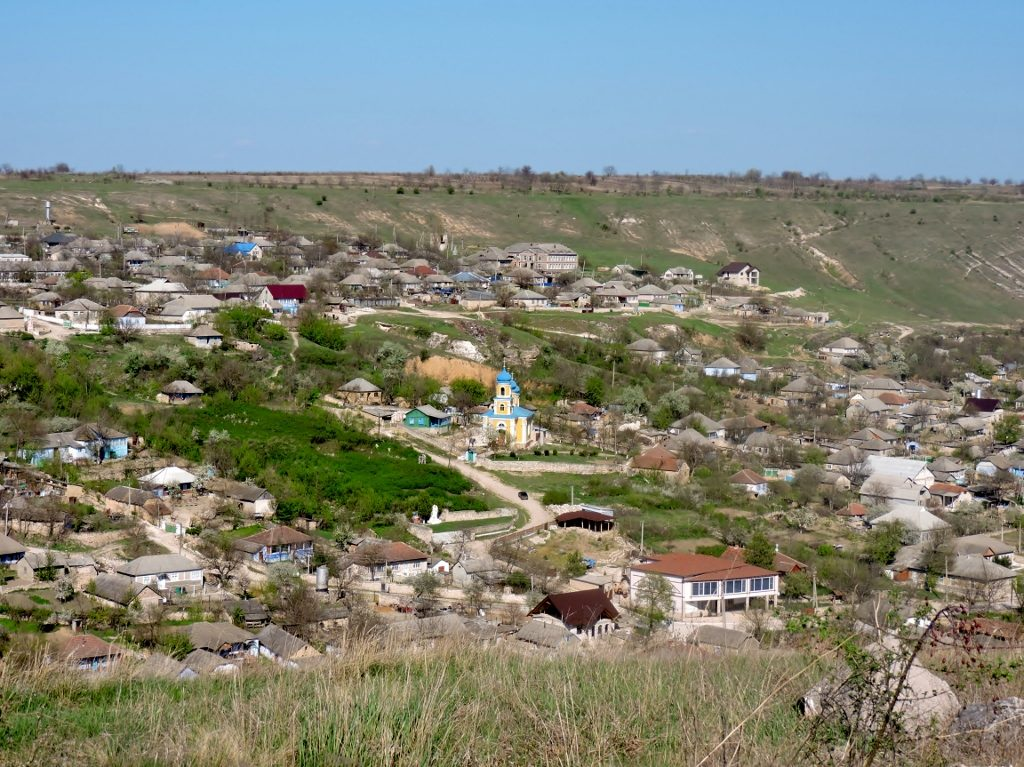 village in the hills, Moldova