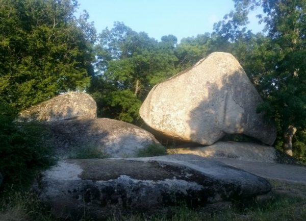 huge stones, Bulgaria Bourgas region