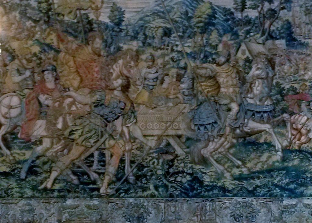 ancient wall carpet