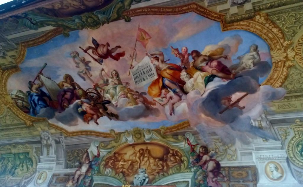 baroque fresco painting Salzburg