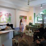 Vernissage in der Galerie Toplev