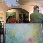 Schaufenster für Galerie