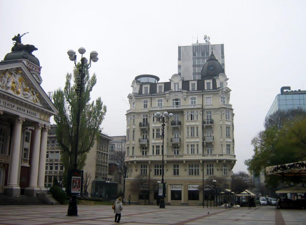 Platz beim bulgarischen Nationaltheater
