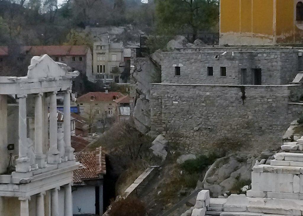 antike Ruinen in der Plovdiv - Altstadt