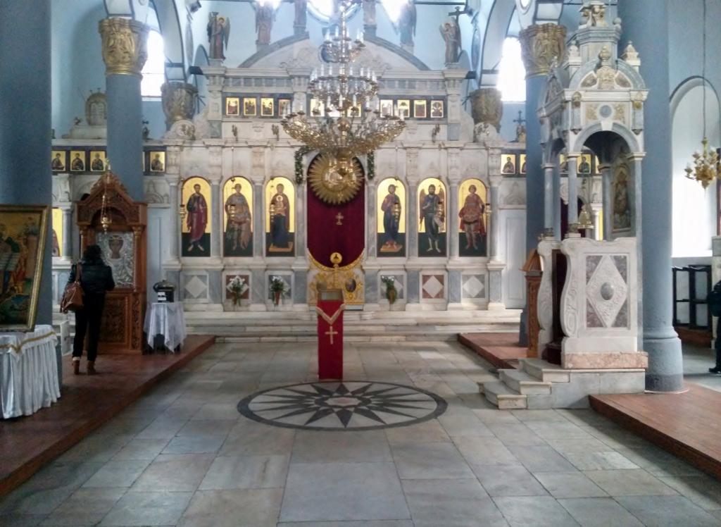Innenansicht der orthodoxen Kirche in Plovdiv - Altstadt