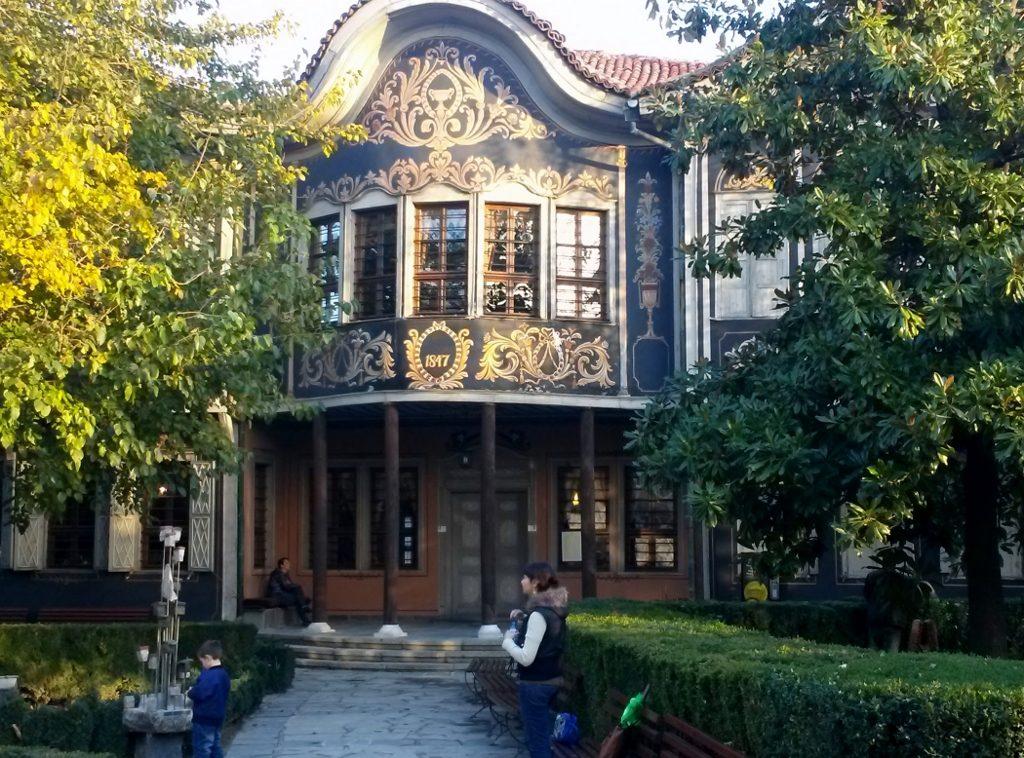 Schönes Museum mit Garten in der Plovdiv - Altstadt