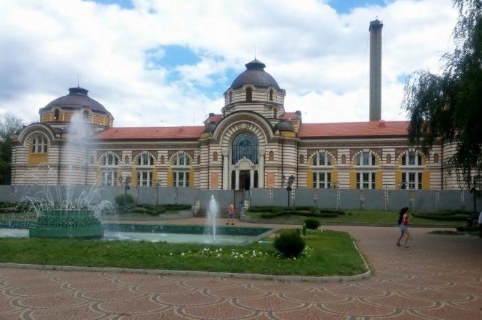 das Thermalbad ist eine der Sofia Sehenswürdigkeiten