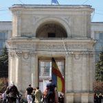 Triumphbogen, Moldawien Reise