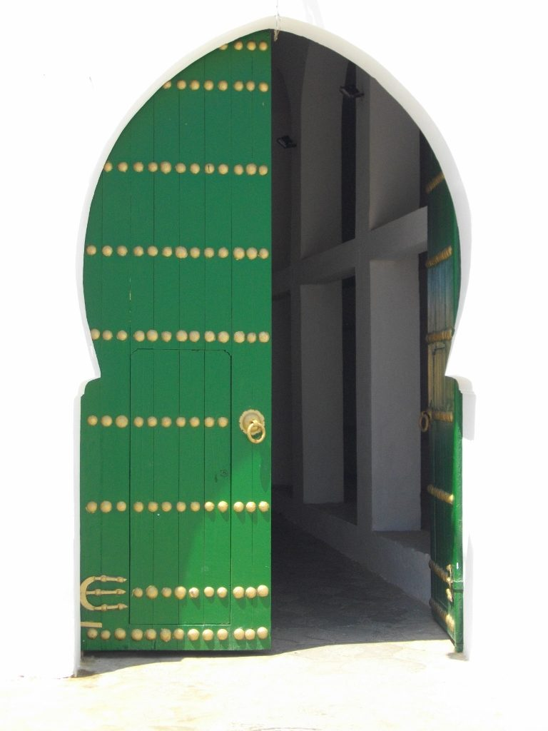 grünes Eingangstor_Asilah