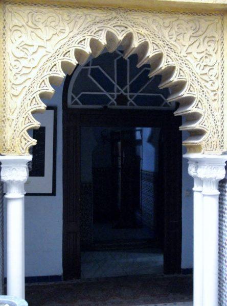 orientalischer Eingangstor
