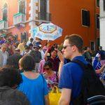 Touristenmassen bei Venedig Tages-Reise