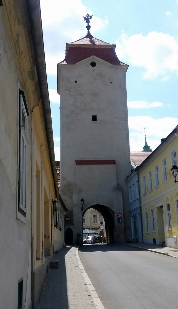 Turm mit Stadttor