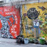 Mauerbemalung als Street Art Berlin
