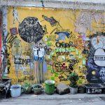 Street Art Berlin an Mauer