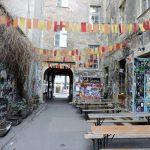 Innenhof mit Street Art Berlin