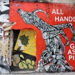 bunte Street Art Berlin