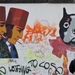 Street Art Berlin an der Wand