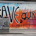 Street Art Berlin mit Aufschrift