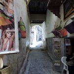 ein Blick auf eine Gasse in der Medina_Fès