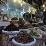 ein Geschäft mit verschiedenen Dattel-Sorten_Marokko