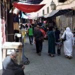 marokkanische Frauen im Souk_Fes