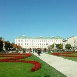 Schloss Mirabell u. Park in Mozart-Stadt Salzburg