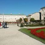 Mirabellgarten mit Schloss_Salzburg