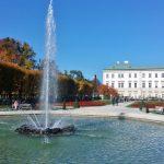 Springbrunnen im Mirabellgarten, Salzburg