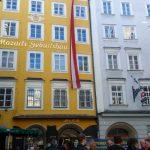 Mozart's Geburtshaus in Salzburg
