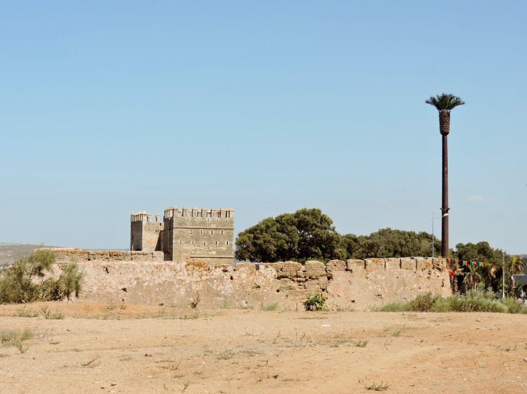 Kasbah Mehdiya in Kenitra, Marokko