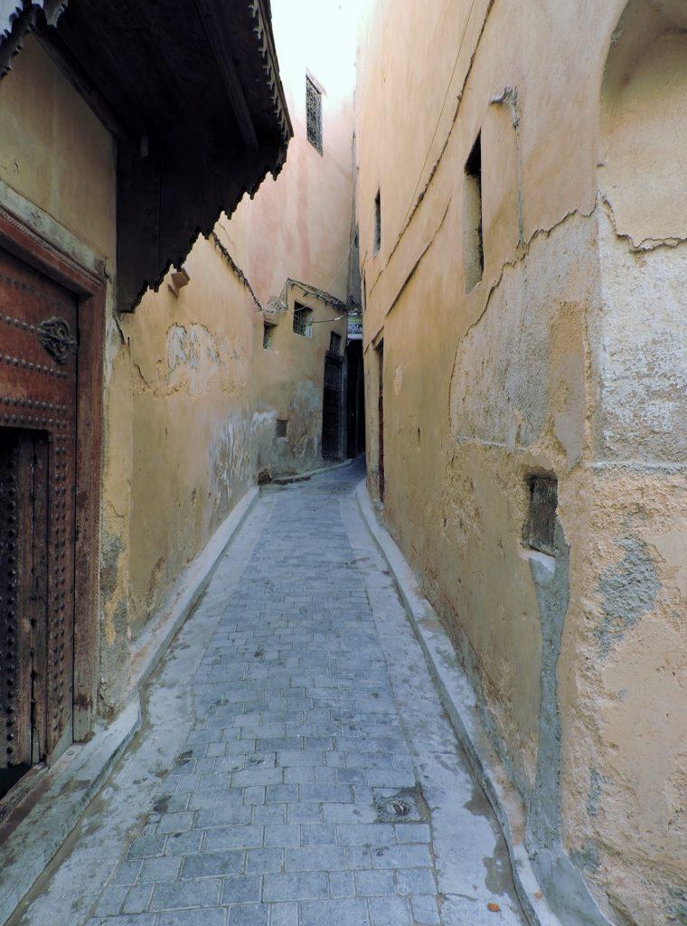 verwinkelte Gasse_Fés_Marokko
