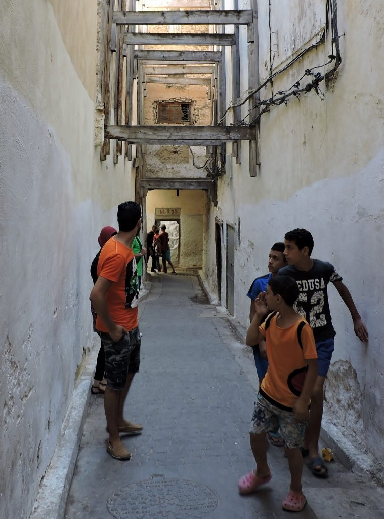 Fès el bali in Marokko