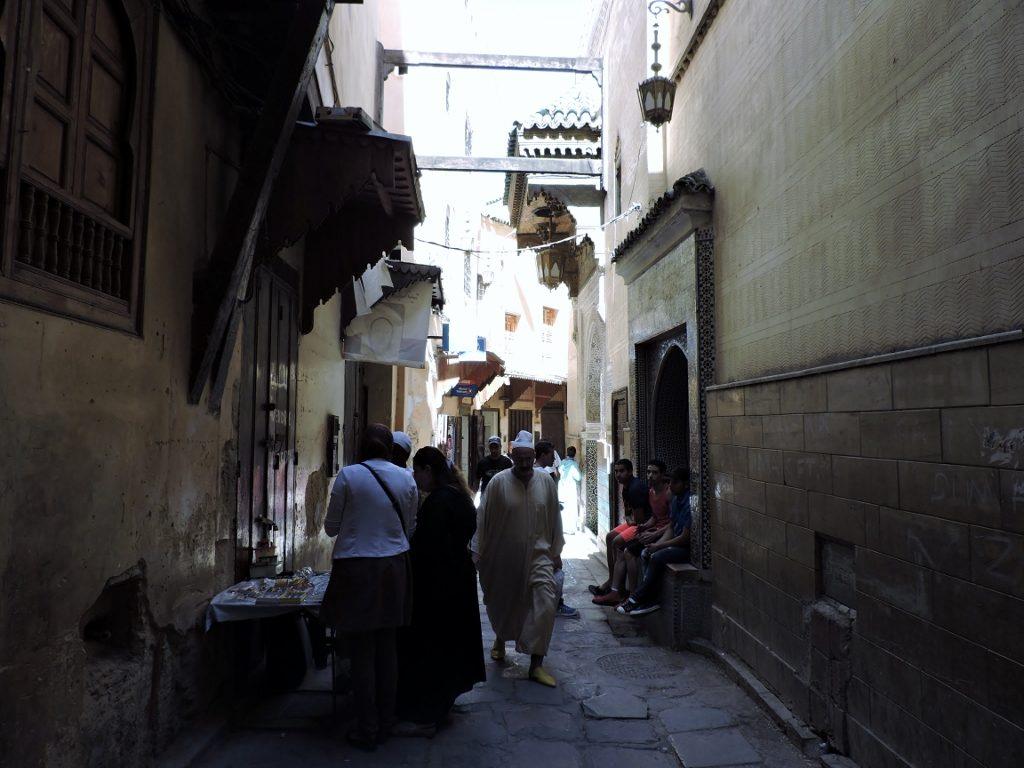 Fès el bali- spirituelle Stadt Marokkos
