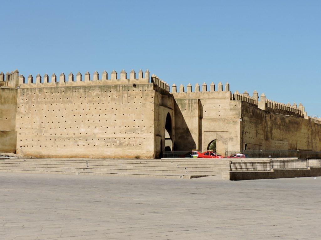 Teil der Stadtmauer_Fès