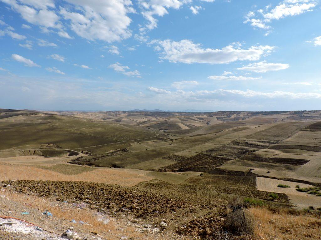 Reisen durch die Landschaft von Marokko
