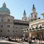 Mozart Platz in Salzburg