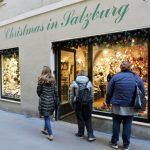 Weihnachts-Geschäft in Salzburg