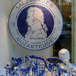 Mozartkugel Geschäft in der Mozart-Stadt