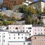 Kapuzinerberg u. Alt-Häuser in Salzburg