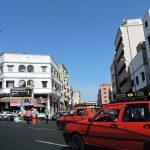 Auto Verkehr_Casablanca_Marokko