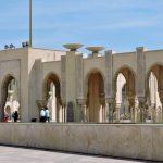 Arkaden einer Moschee in Casablanca