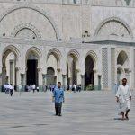 Innenhof der Moschee von Casablanca