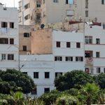 weiße Häuser in Casablanca
