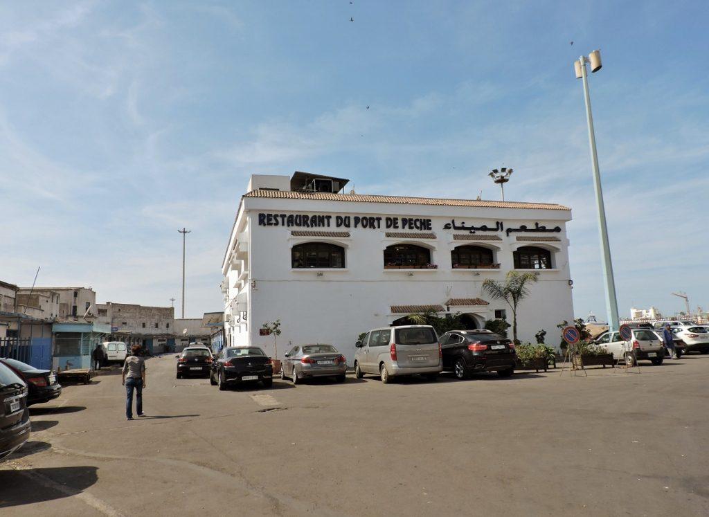 Fisch Restaurant am Hafen von Casablanca_Marokko