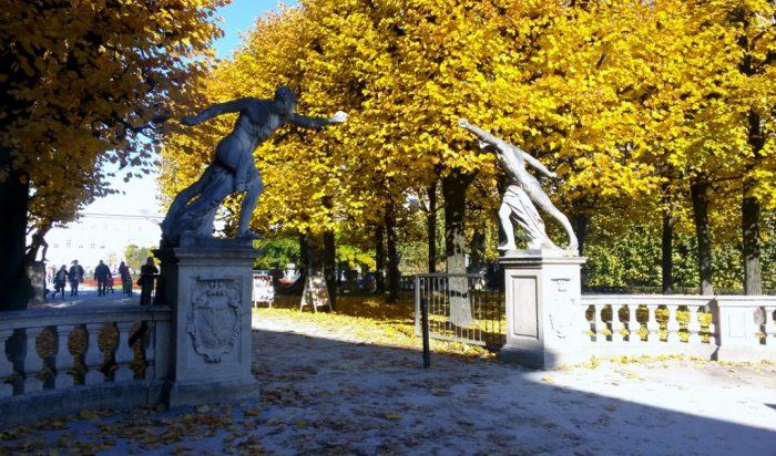 Mirabellgarten, Mozart-Stadt Salzburg