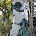 Ludwig Anzengruber Grab am_Wiener Zentralfriedhof