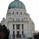 die Friedhofskirche am Wiener Zentralfriedhof