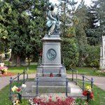 Grab-Denkmal von Mozart am Wiener Zentralfriedhof, Wien
