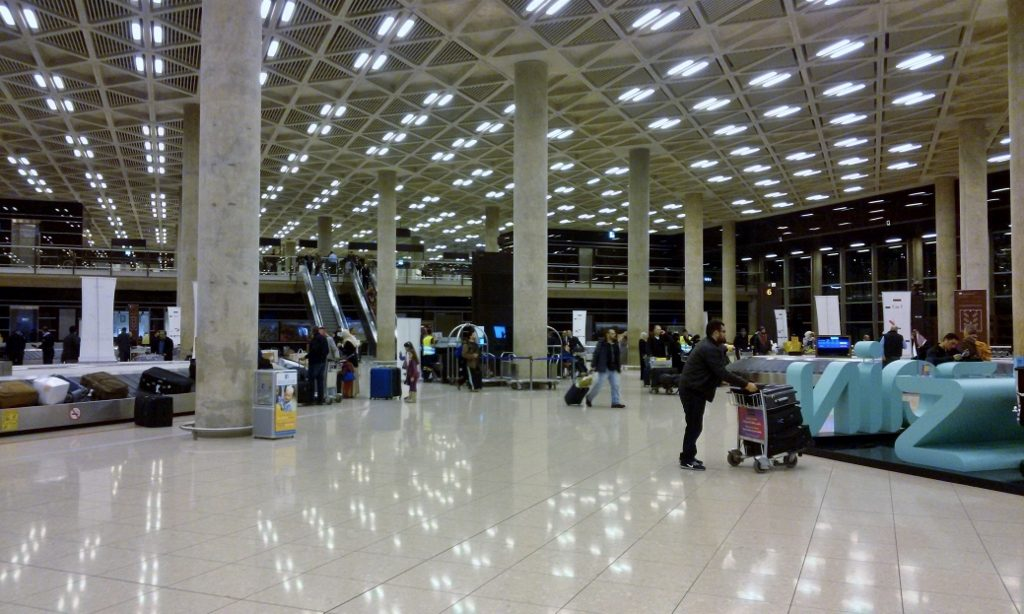 Ankunftshalle_Flughafen_Amman_Jordanien