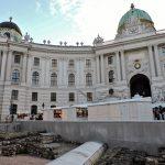 Ausgrabungen vor der Hofburg Wien